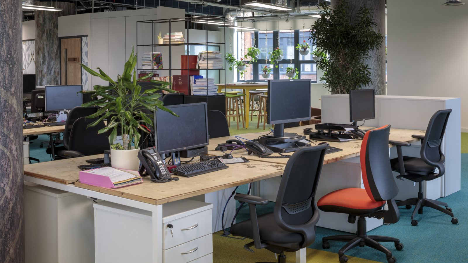 Changing your workplace doesn't have to cost the Earth…